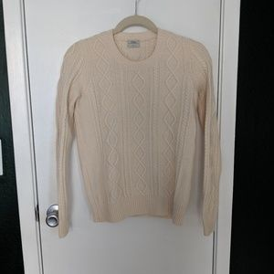 Wallace/Madewell Wool Cable Sweater